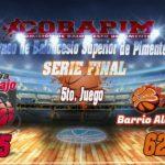 Cuaba Abajo se coronó campeón del Torneo de Baloncesto Superior de Pimentel.