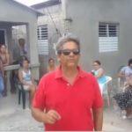 """Barrio Teniente Amado García ahora le llaman  """"Calle la manguera"""" por falta de agua."""