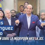 [Video] Ramfis Domínguez Trujillo presenta su postura sobre la decisión de la JCE.