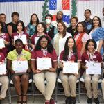Ayuntamiento de SFM reconoce Estudiantes Meritorios de Centros Educativos